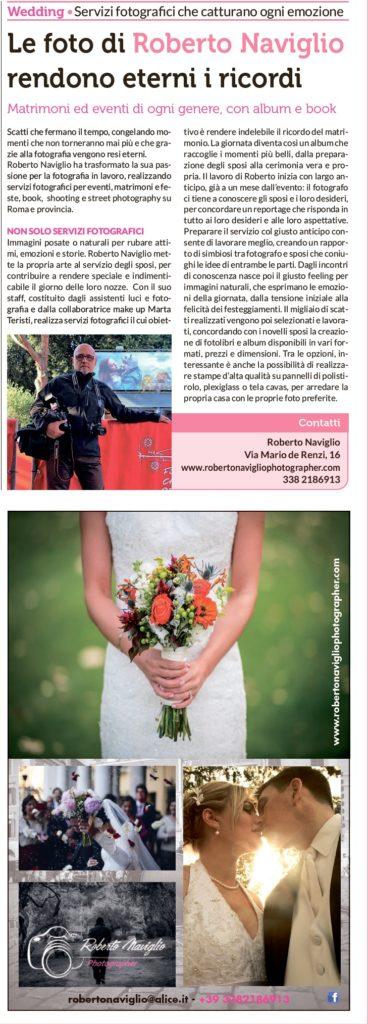 Repubblica - Articolo su Roberto Naviglio